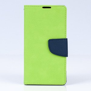 WALLET FLIP CASE COVER pocketbook RUBBER magnet SONY XPERIA Z5 Lemon