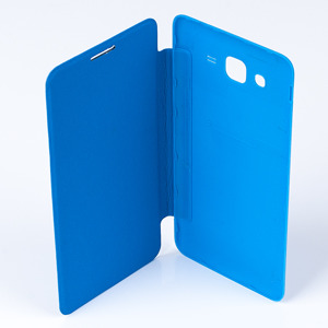 WALLET FLIP CASE COVER pocketbook SAMSUNG GALAXY GRAND PRIME G530 BLUE