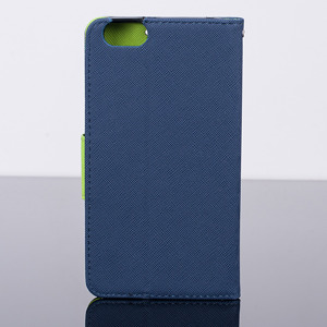 WALLET FLIP CASE COVER pocketbook magnet HUAWEI HONOR 4X dark blue