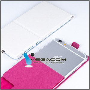 WALLET FLIP SLIM CASE COVER KARBONN SPARKLE V 4 COLORS