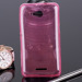 BACK CASE COVER SONY XPERIA E4g E2003 E2006 Ultra slim 0.3mm PINK