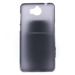 BACK CASE MATT COVER GEL RUBBER JELLY HUAWEI Y5 2017 BLACK