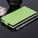 SLIM FLIP FLEX CASE COVER RUBBER magnet SONY XPERIA M2 AQUA GREEN