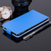 SLIM FLIP FLEX CASE COVER RUBBER magnet WIKO HIGHWAY PURE BLUE