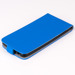 SLIM FLIP FLEX CASE COVER magnet RUBBER ASUS ZENFONE 5 BLUE color