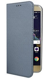 Fall decken CASE COVER TASCHE Magnetic HUAWEI P9 LITE 2017 STAHL