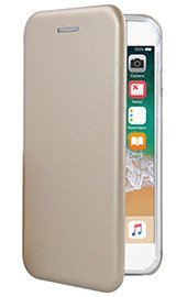 Fall decken CASE COVER TASCHE Magnetic PRESTIGE IPHONE XS GOLD
