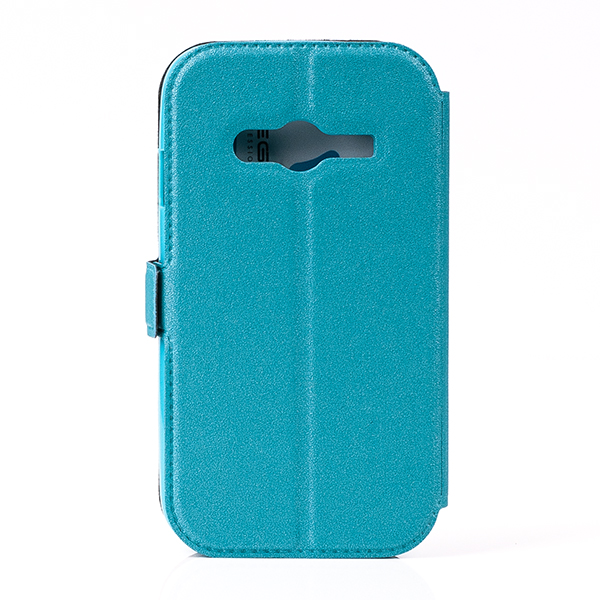 Brieftasche Fall decken Holster CASE COVER GALAXY TREND 2 LITE BLAU