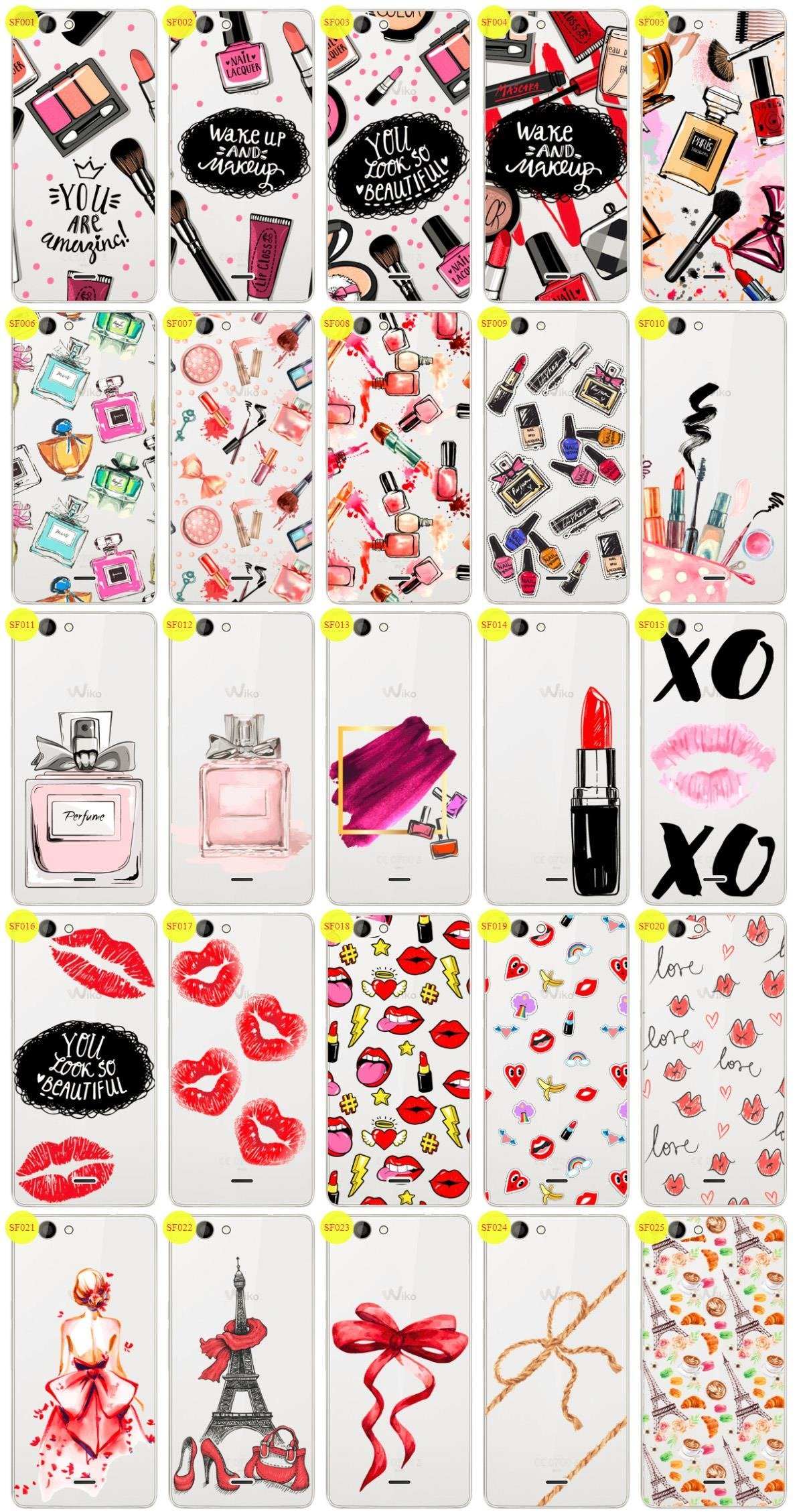 Case Aufdruck Tasche Fall Kreatui FASHION WIKO HIGHWAY SINGS + GLAS 9H