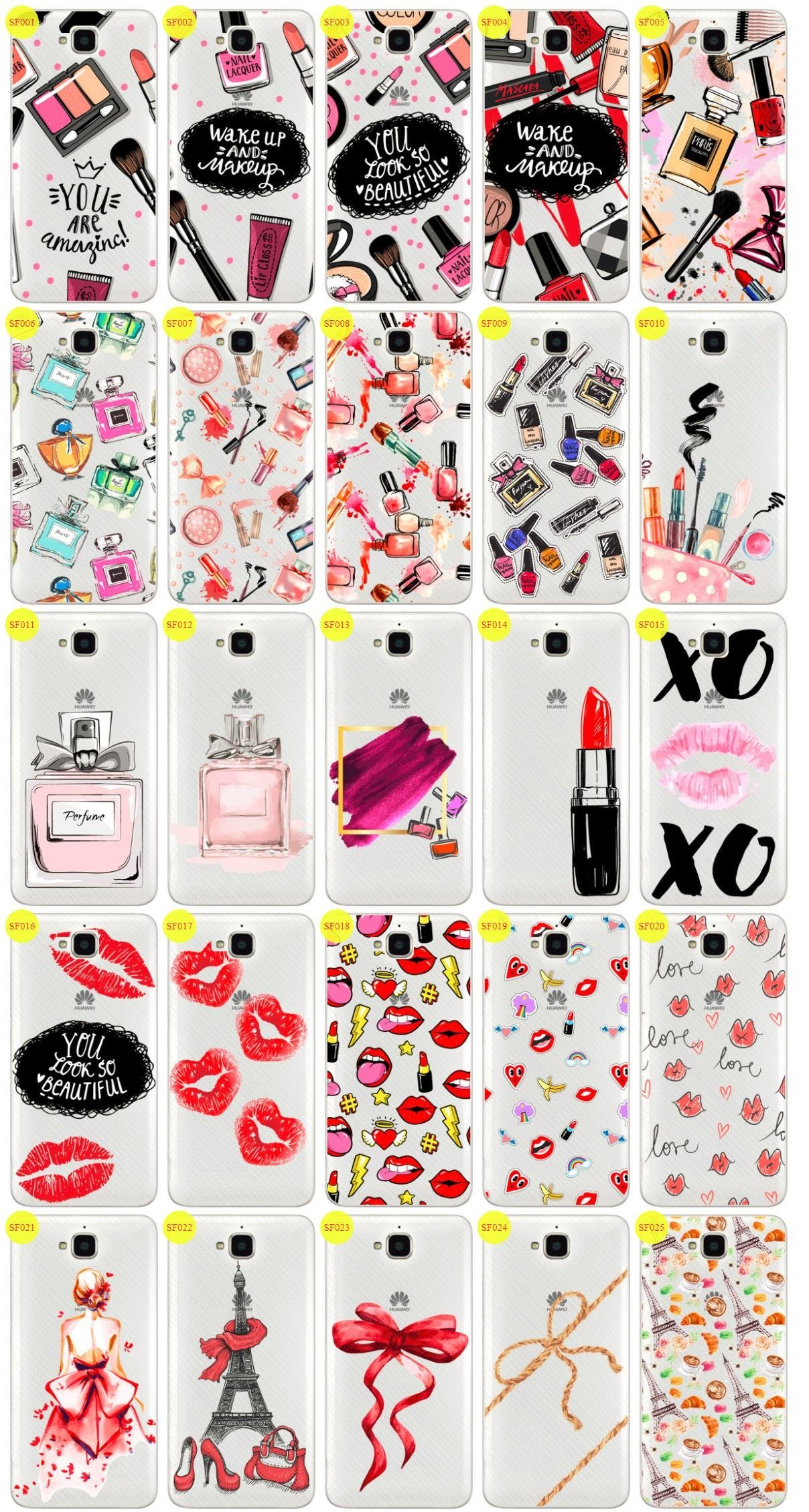 Case Cover Aufdruck Tasche Fall Kreatui FASHION HUAWEI Y6 PRO + GLAS