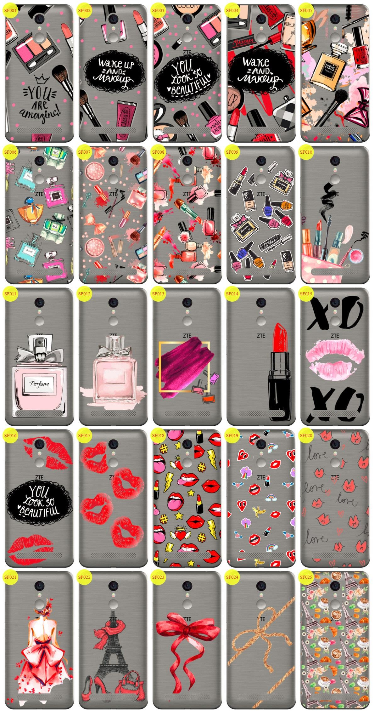 Case Cover Aufdruck Tasche Fall Kreatui STICKER FASHION ZTE BLADE A602