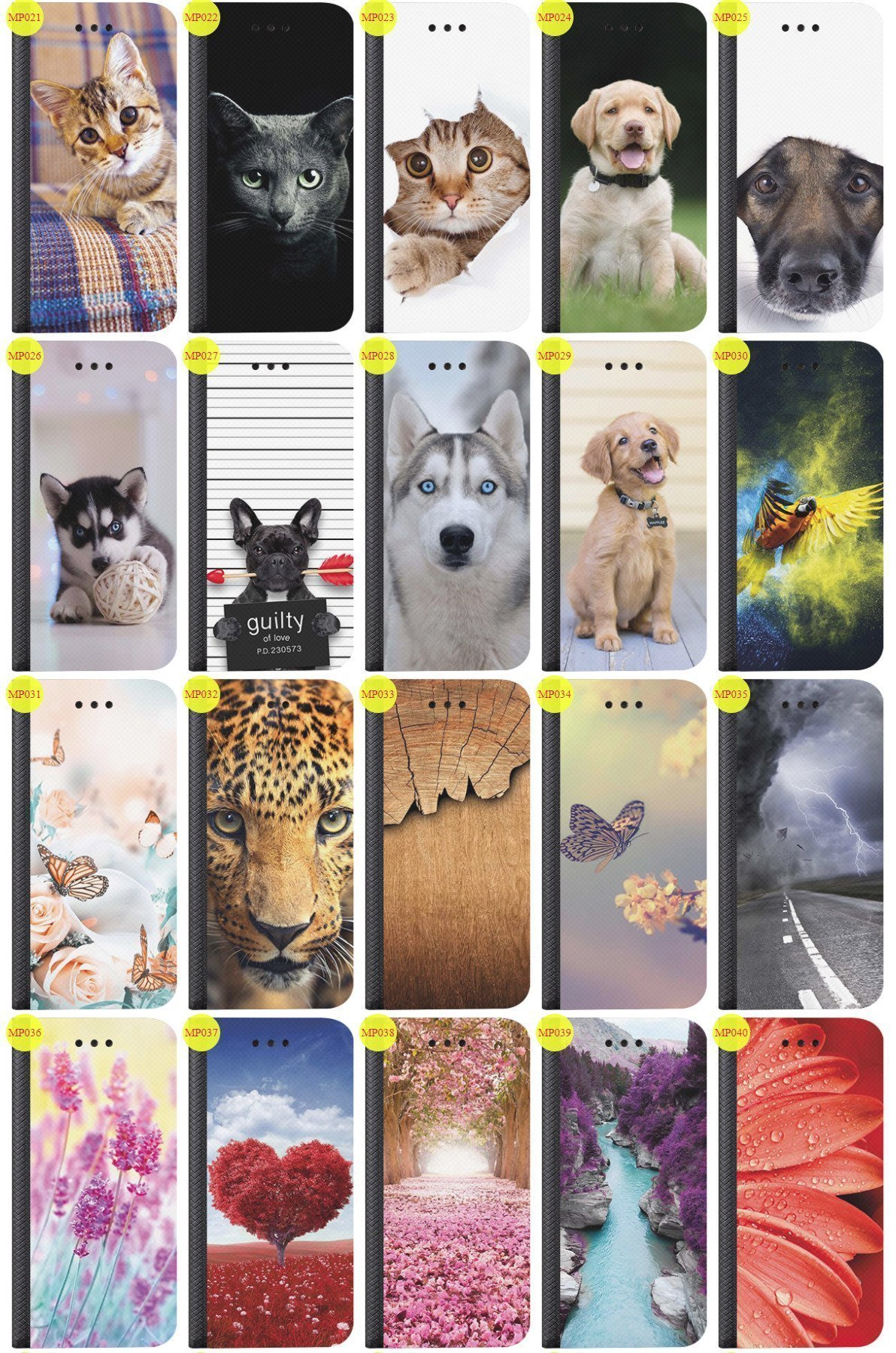 Case Cover Aufdruck Tasche Fall Magnetic Print SONY XPERIA T3