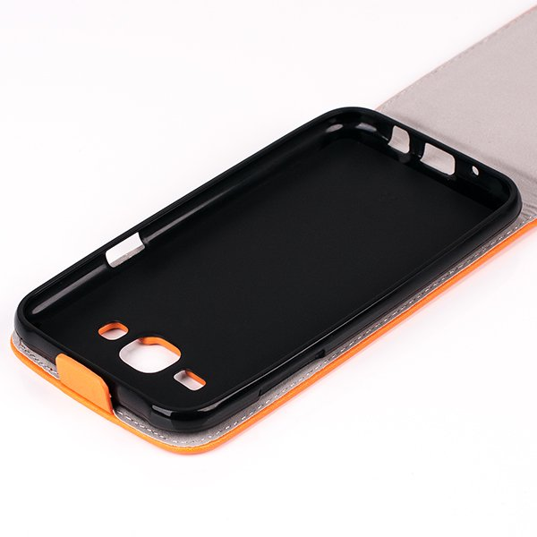 Fall Holster decken COVER CASE TASCHE SAMSUNG GALAXY J5 SM-J500 ORANGE