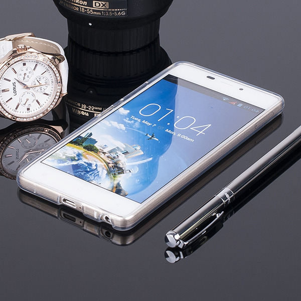 Fall decken CASE COVER CLEAR CASE KAZAM TORNADO 348 TRANSPARENT