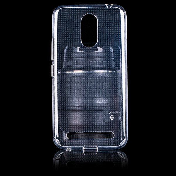 Fall decken CASE COVER GEL TASCHE JELLY ZTE BLADE A602 TRANSPARENT