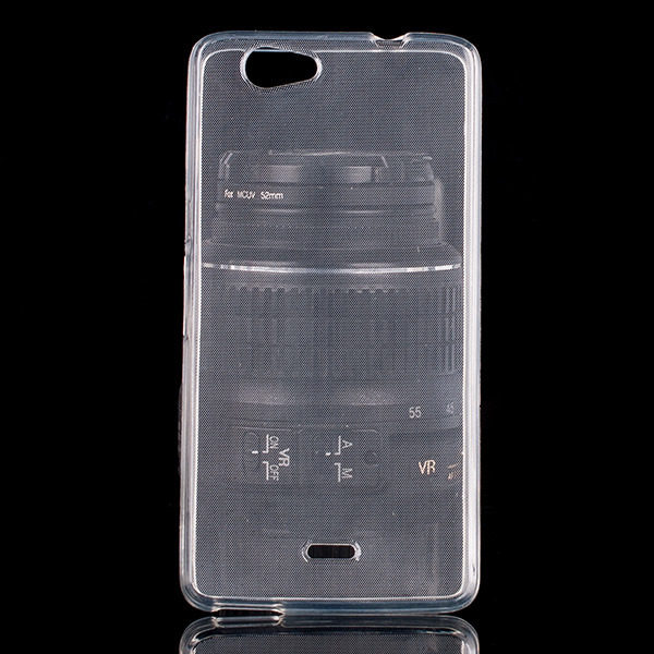 Fall decken CASE GEL TPU TASCHE JELLY WIKO HIGHWAY SINGS TRANSPARENT