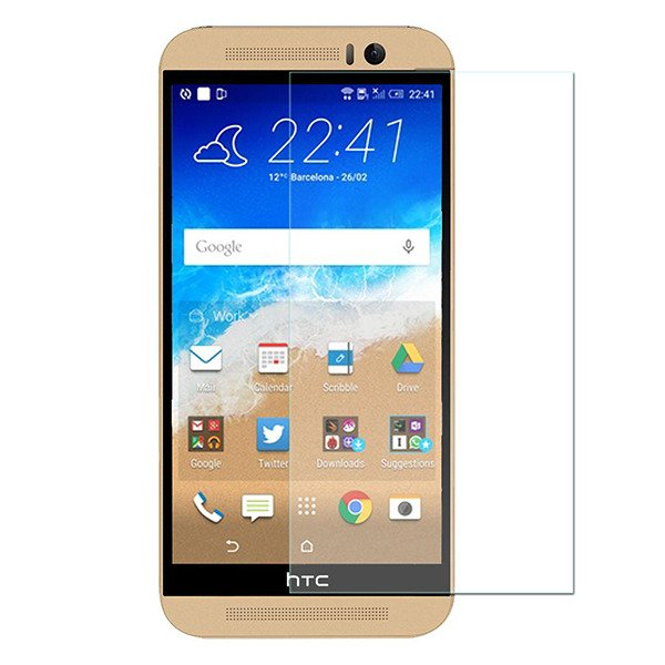 Schutzfolie 9H HTC ONE M9 Displayschutz Schutz Folie Glass SCREEN