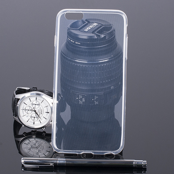 TASCHE Fall decken 0.3mm CASE COVER für IPHONE 6 PLUS TRANSPARENT