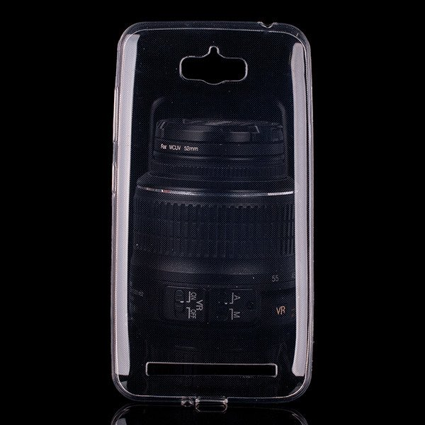 TASCHE Fall decken CASE COVER ASUS ZENFONE MAX ZC550KL 0.3 TRANSPARENT