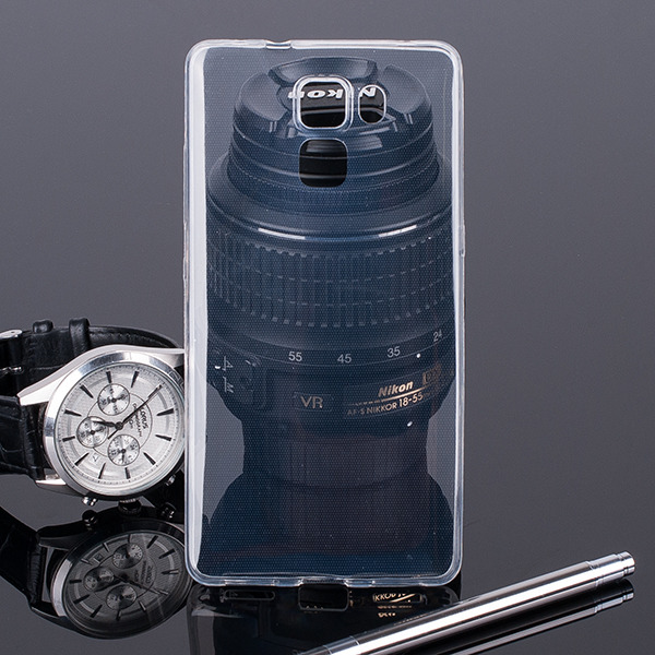 TASCHE Fall decken CASE COVER HUAWEI HONOR 7 TRANSPARENT 0.3mm