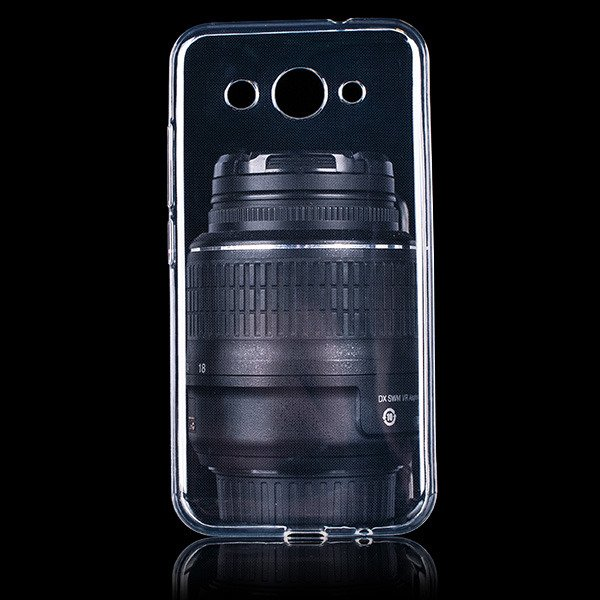 TASCHE Fall decken CASE COVER HUAWEI Y3 2017 0.3mm TRANSPARENT