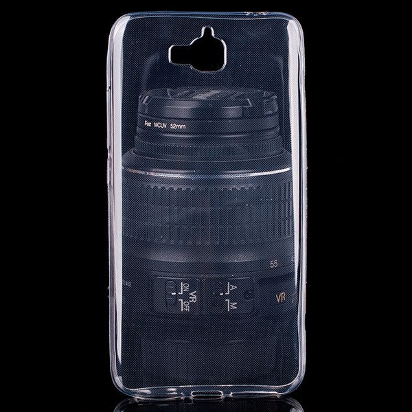 TASCHE Fall decken CASE COVER HUAWEI Y6 PRO 0.3mm TRANSPARENT