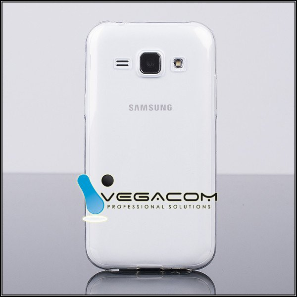 TASCHE Fall decken CASE COVER SAMSUNG GALAXY J1 SM-J100 CLEAR 0.3mm