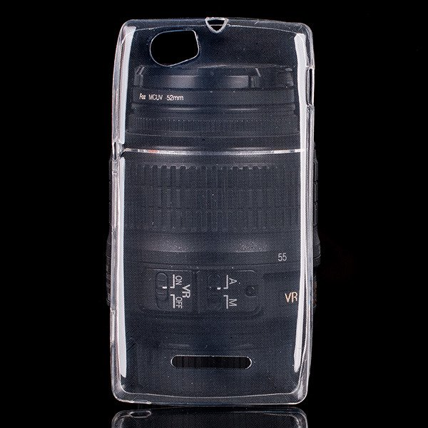TASCHE Fall decken CASE COVER SONY XPERIA M 0.3mm TRANSPARENT