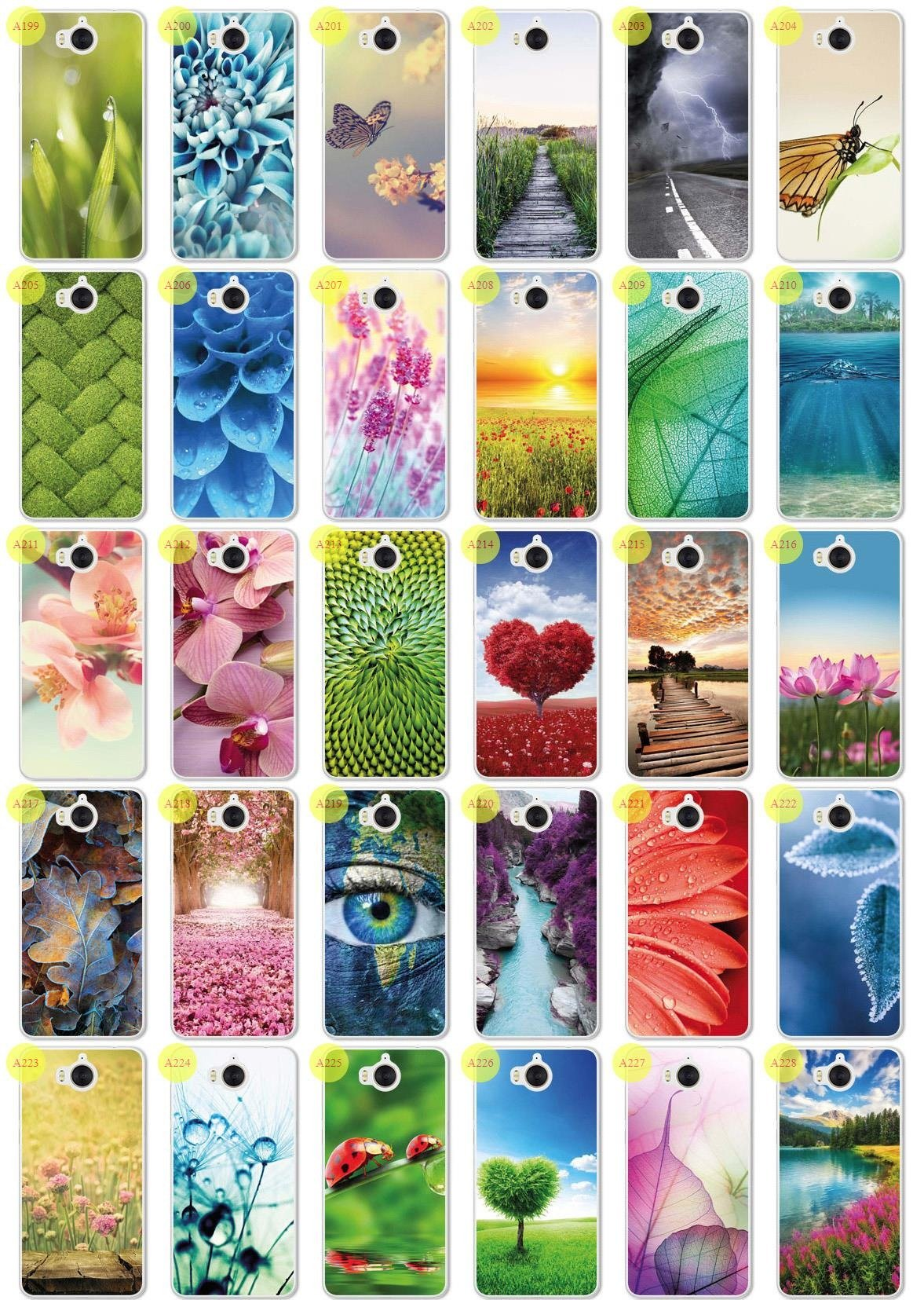 Tasche Fall Kreatui CASE COVER PhotoCase HUAWEI Y6 2017 + GLAS 9H