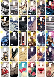 0.3mm Tasche Fall Kreatui CASE COVER PhotoCase LG X MACH + PROTECTOR