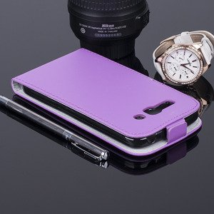 COVER Fall Holster Magnet CASE TASCHE ALCATEL ONE TOUCH POP C9 VIOLETT