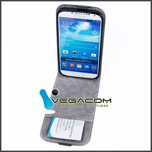 COVER Fall Holster Magnet CASE TASCHE TPU WIKO LENNY BLAU
