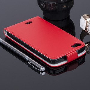 COVER Fall Holster Magnet CASE TASCHE TPU WIKO LENNY ROT