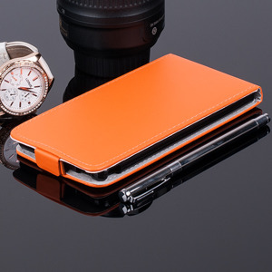 FLEX Fall Holster decken COVER CASE TASCHE SONY XPERIA M4 AQUA ORANGE