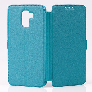 FLIP Brieftasche Fall decken Holster CASE COVER HUAWEI HONOR 7 BLAU