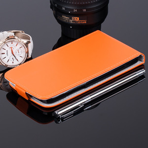 FLIP FLEX Fall Holster decken COVER CASE TASCHE WIKO LENNY ORANGE