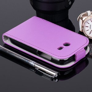 Fall Holster decken COVER CASE TASCHE SAM GALAXY POCKET 2 G110 VIOLETT