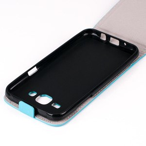 Fall Holster decken COVER CASE TASCHE SAMSUNG GALAXY J5 J500 SKYBLUE