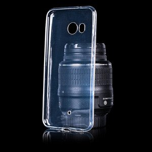 Fall decken CASE COVER GEL TPU TASCHE JELLY HTC U11 / U 11 TRANSPARENT