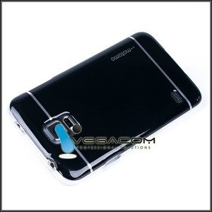 Fall decken CASE COVER MOTOMO TPU GEL SAMSUNG GALAXY S5 SM-G900 SCHWAR