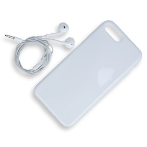 Fall decken CASE COVER TASCHE JELLY IPHONE 7 PLUS WEISS