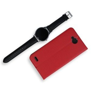Fall decken CASE COVER TASCHE Magnetic SmartCase LG X POWER 2 ROT