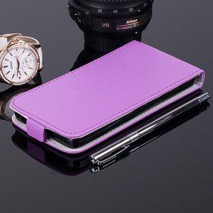 SLIM Fall decken Holster Magnet CASE COVER HUAWEI ASCEND Y635 VIOLETT