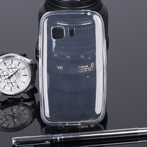 TASCHE FALL decken CASE COVER 0.3mm SAMSUNG GALAXY YOUNG 2 G130 CLEAR