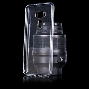 TASCHE Fall decken CASE ASUS ZENFONE 3 ZE520KL 0.3MM CLEAR