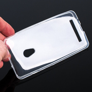 TASCHE Fall decken CASE COVER ASUS ZENFONE 5 0.3mm TRANSPARENT