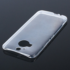 TASCHE Fall decken CASE COVER HTC ONE M9+ 0.3mm TRANSPARENT
