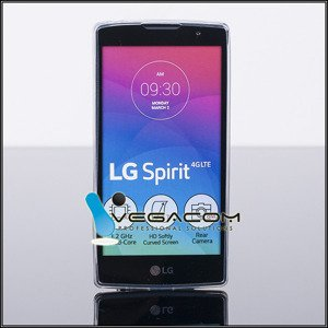 TASCHE Fall decken CASE COVER LG SPIRIT H440N TRANSPARENT 0.3mm