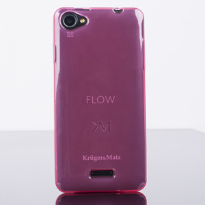 original Fall decken BACK CASE COVER KRUGER MATZ FLOW ROSA
