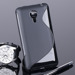 Fall decken BACK CASE SLINE S-LINE GEL TPU MEIZU MX4 SCHWARZ